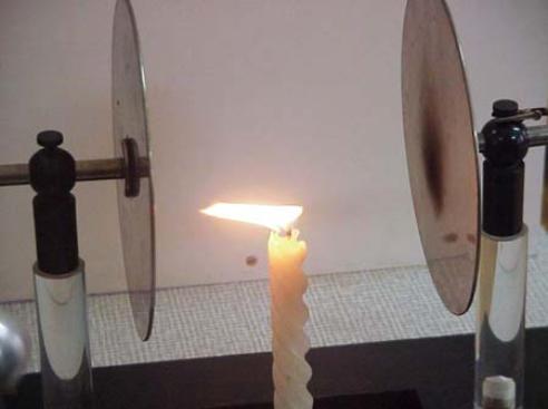 negativ elektrische teilchen